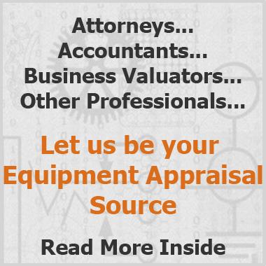 Equipment Appraisals for Professionals