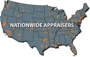 nationwide-appraisers Map